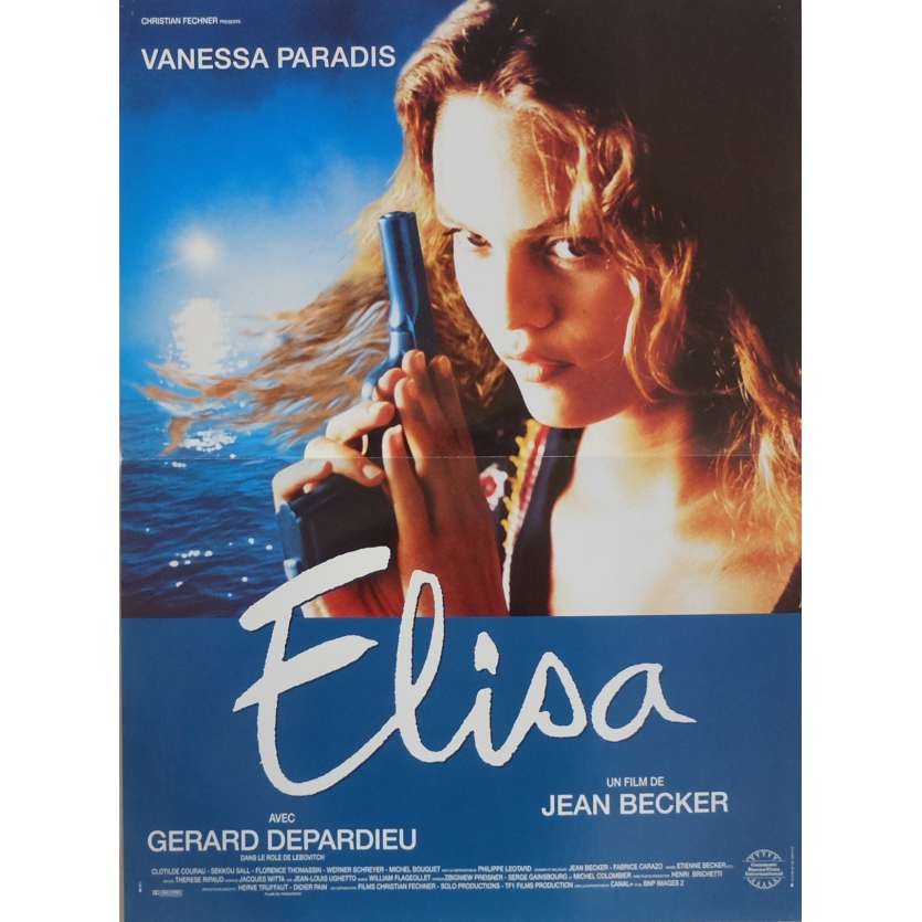 ELISA Movie Poster 15x21 in. French - 1995 - Jean Becker, Vanessa Paradis