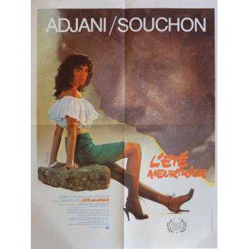 ONE DEADLY SUMMER Movie Poster 23x32 in. French - 1983 - Jean Becker, Isabelle Adjani