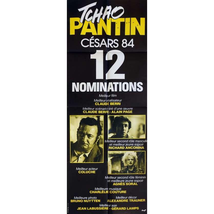 TCHAO PANTIN Affiche de film Mod. B 60x80 cm - 1983 - Coluche, Claude Berri