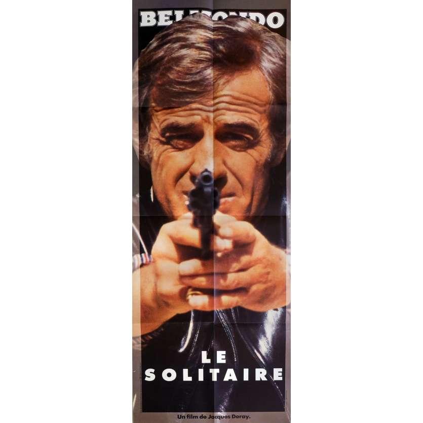 LE SOLITAIRE Affiche de film 60x160 cm - 1987 - Jean-Paul Belmondo, Jacques Deray
