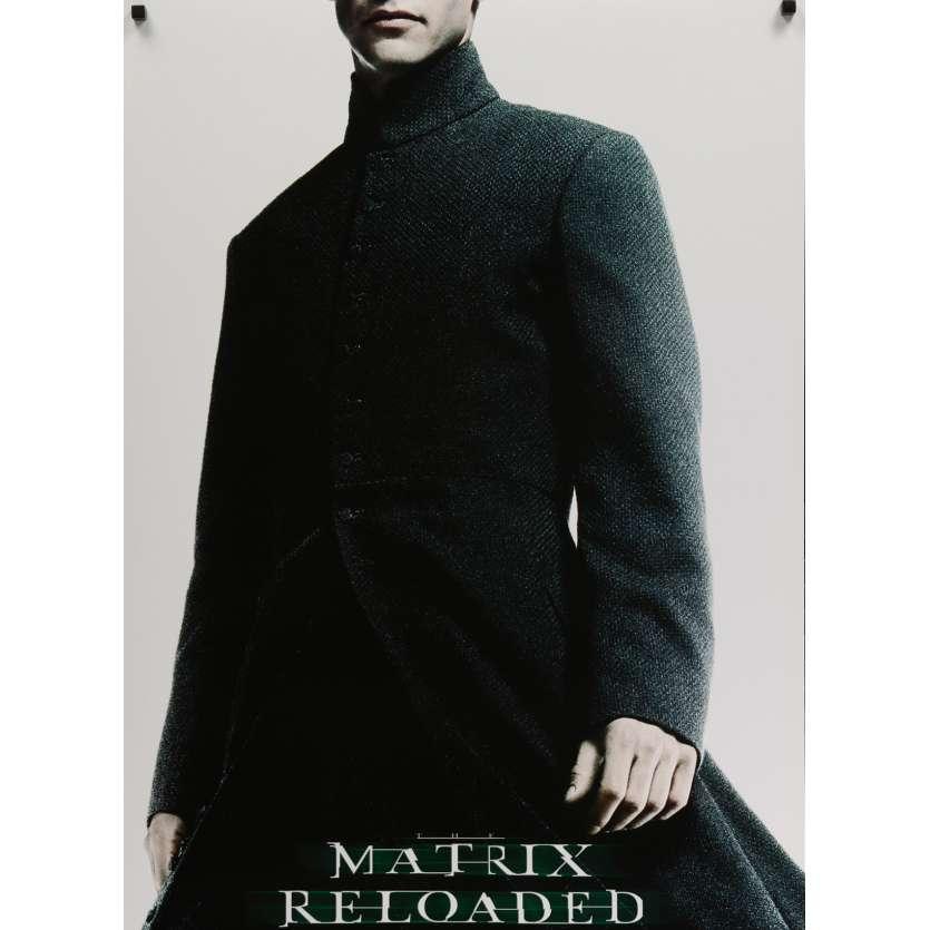 MATRIX RELOADED Affiche de film 69x102 cm - 2003 - Keanu Reeves, Wachowski Bros