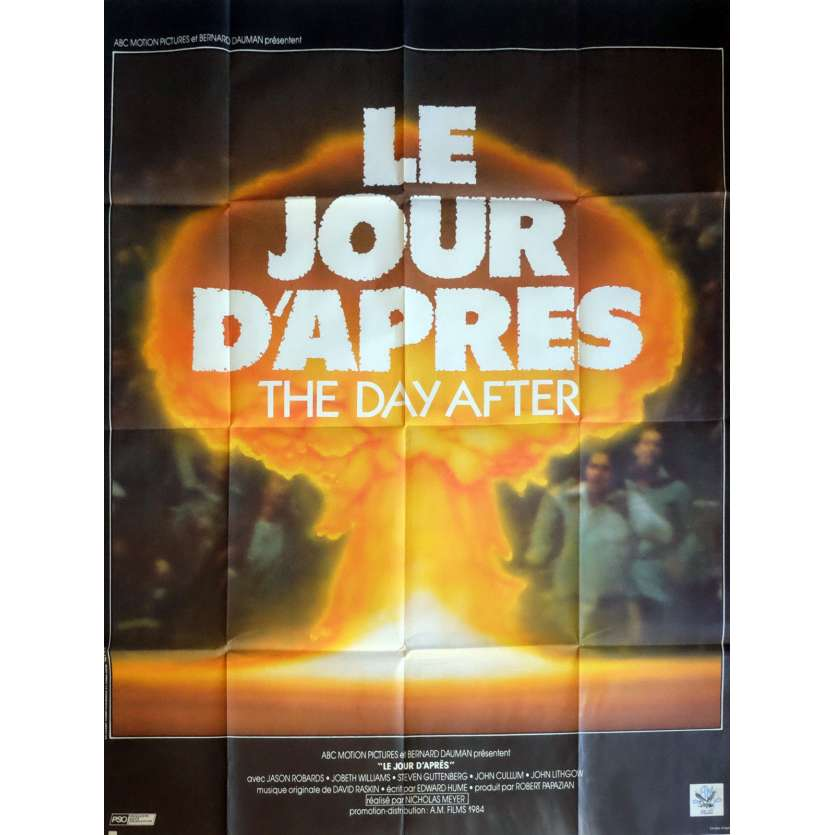 LE JOUR D'APRES Affiche de film 120x160 - 1980 - Day After