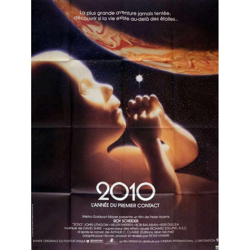 2010 Movie Poster 47x63 in. German - 1984 - Peter Hyams, Roy Sheider