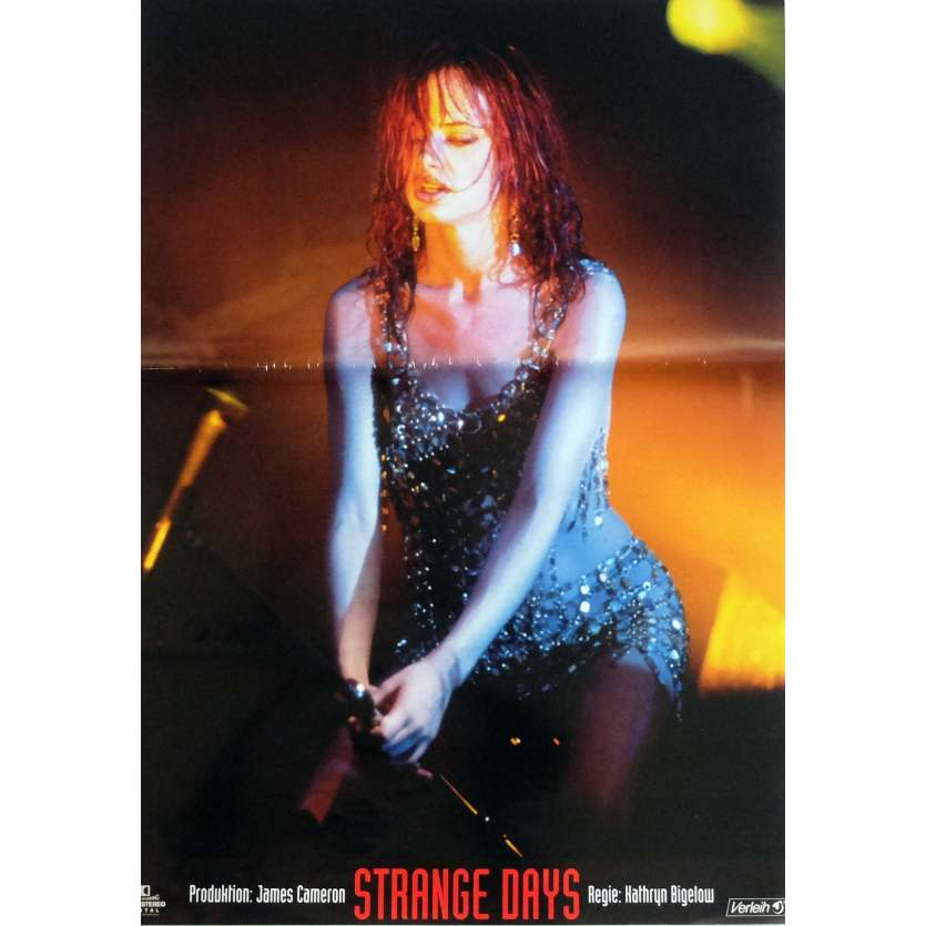 STRANGE DAYS Photobusta Poster N3 15x21 in. German - 1995 - Kathryn Bigelow, Ralph Fiennes