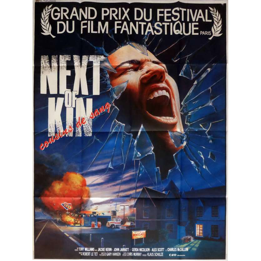 NEXT OF KIN French 1p Movie Poster Tony Williams '68 Horror