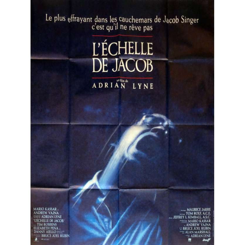 JACOB'S LADDER Movie Poster French Movie Poster 47x63 '90 Tim Robbins
