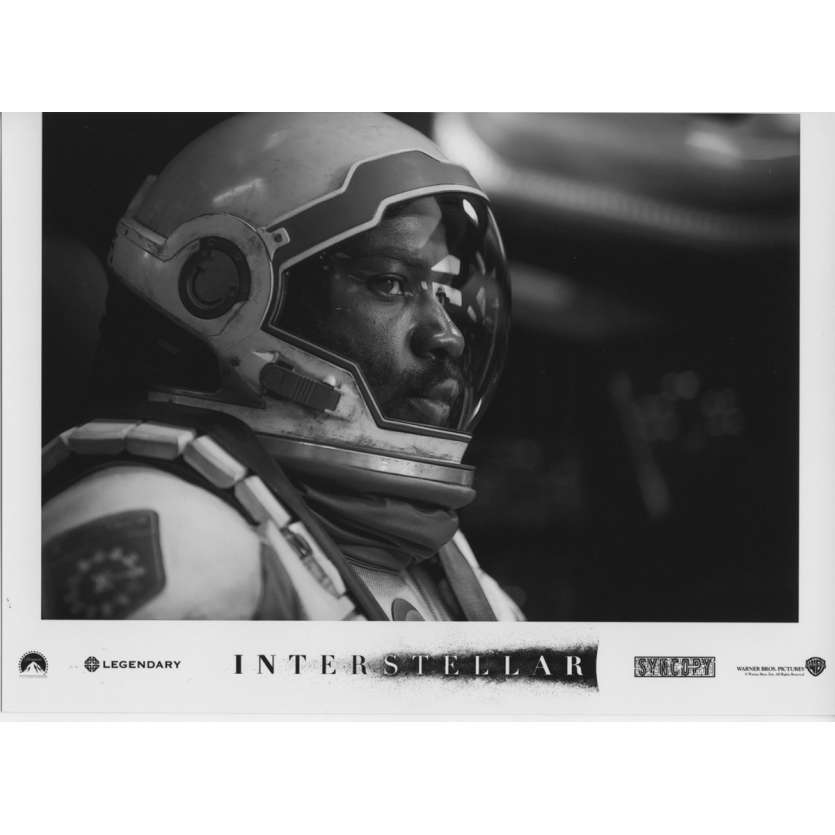 INTERSTELLAR Photo de presse N14 13x18 cm - 2014 - Matthew McConaughey, Christopher Nolan