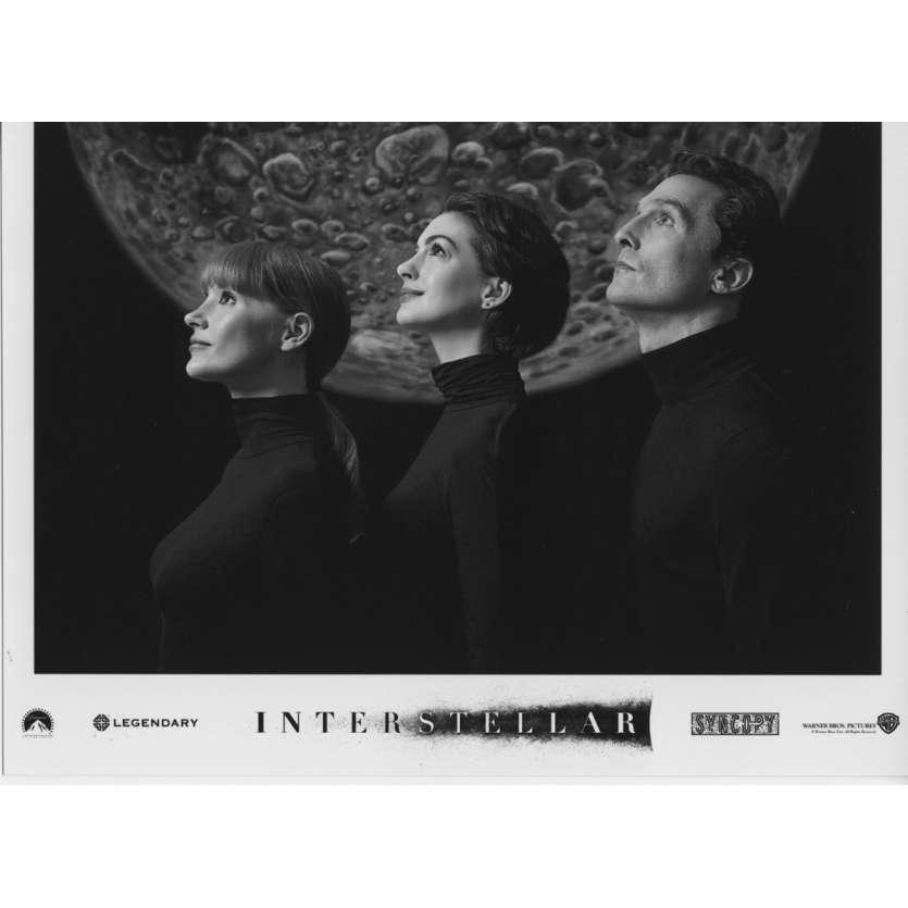 INTERSTELLAR Photo de presse N09 13x18 cm - 2014 - Matthew McConaughey, Christopher Nolan