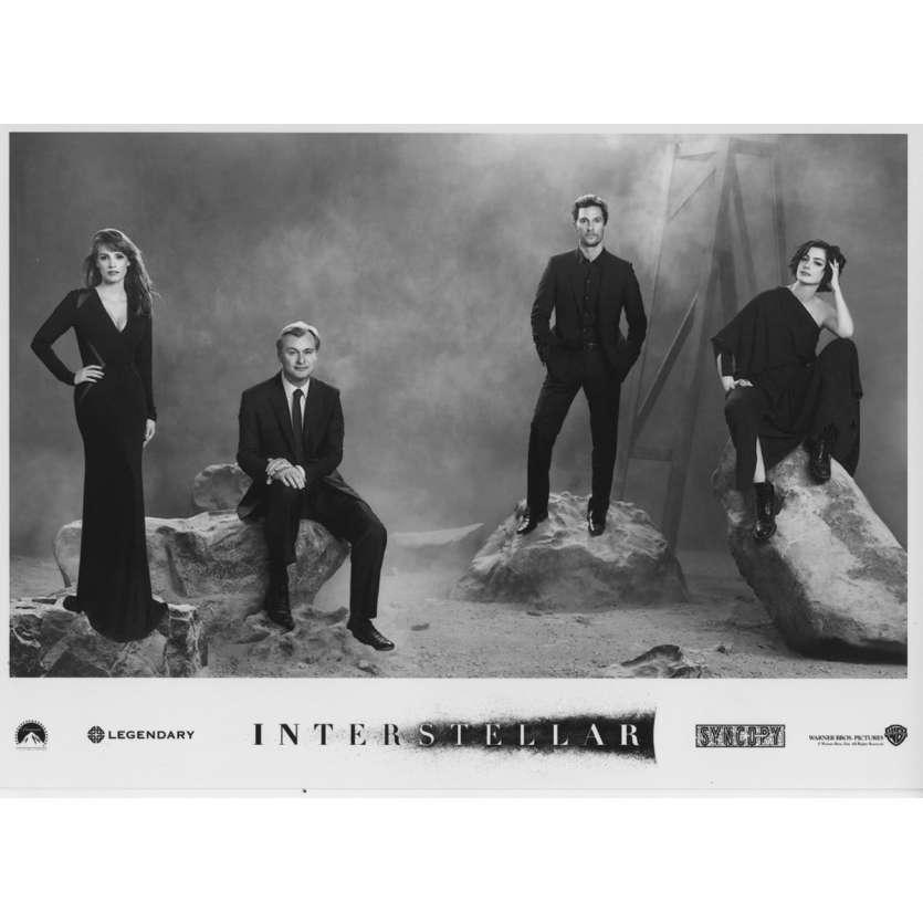 INTERSTELLAR Photo de presse N08 13x18 cm - 2014 - Matthew McConaughey, Christopher Nolan