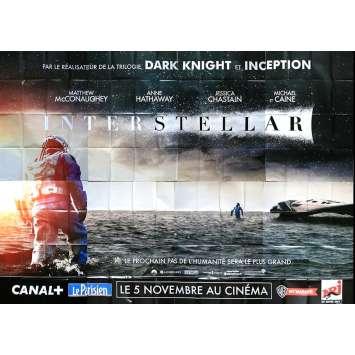 INTERSTELLAR Affiche de film géante 400x300 cm - 2014 - Matthew McConaughey, Christopher Nolan