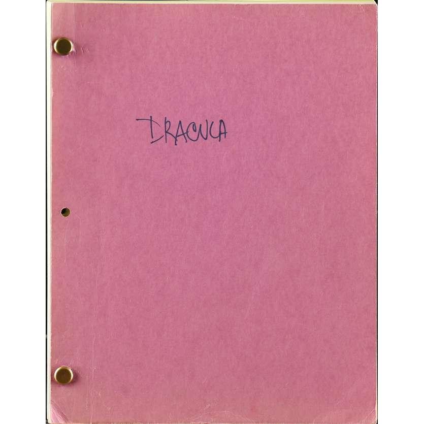 DRACULA Scénario 21x30 cm - 1992 - Gary Oldman, Winona Ryder, Francis Ford Coppola