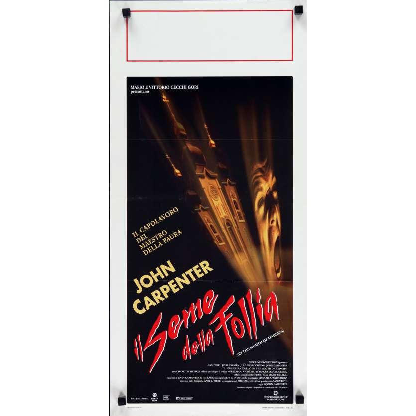 L'ANTRE DE LA FOLIE Affiche de film 33x71 cm - 1994 - Sam Neill, John Carpenter
