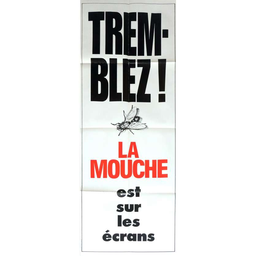 THE FLY Movie Poster 23x63 in. French - 1986 - David Cronenberg, Jeff Goldblum