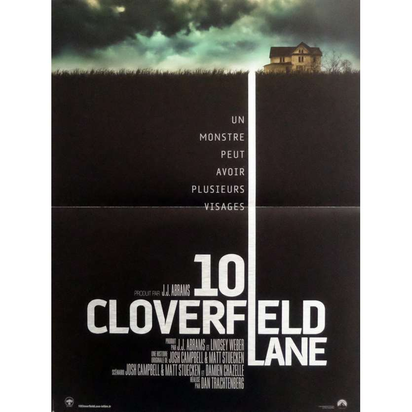 10 CLOVERFIELD LANE Movie Poster 15x21 in. - 2016 - Dan Trachtenberg, John Goodman
