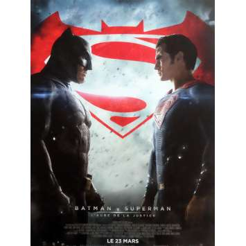 BATMAN VS SUPERMAN Affiche de film Def. 40x60 cm - 2016 - Ben Affleck, Zack Snyder