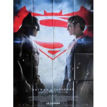 BATMAN VS SUPERMAN Affiche de film Def. 120x160 cm - 2016 - Ben Affleck, Zack Snyder