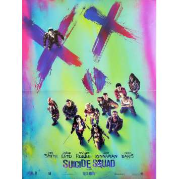 SUICIDE SQUAD Movie Poster Adv. 15x21 in. - 2016 - David Ayer, Margot Robbie