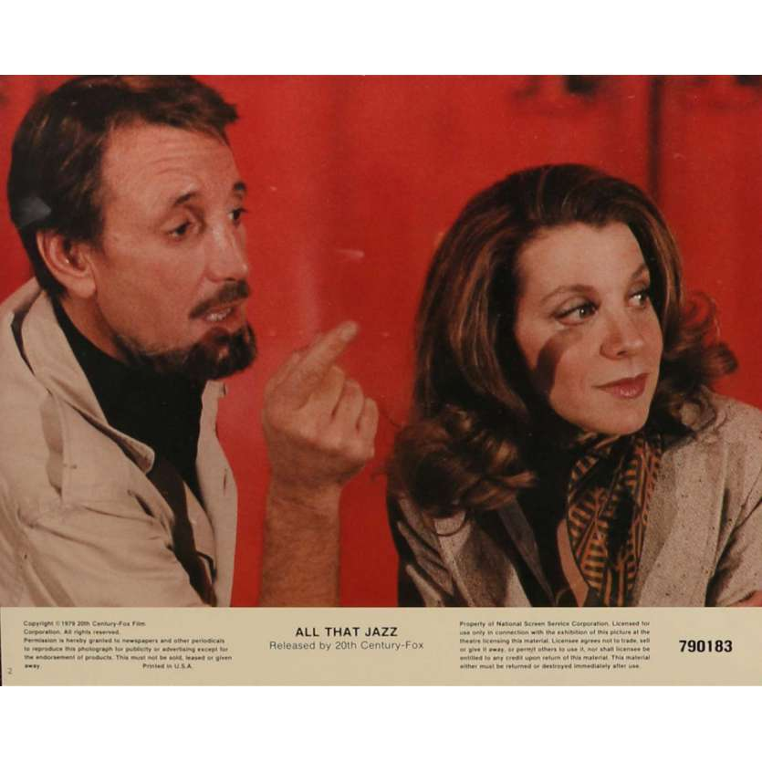 ALL THAT JAZZ Lobby Cards N1 8x10 in. - 1979 - Bob Fosse, Roy Sheider