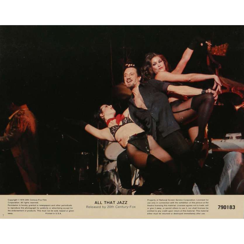 ALL THAT JAZZ Lobby Cards N2 8x10 in. - 1979 - Bob Fosse, Roy Sheider