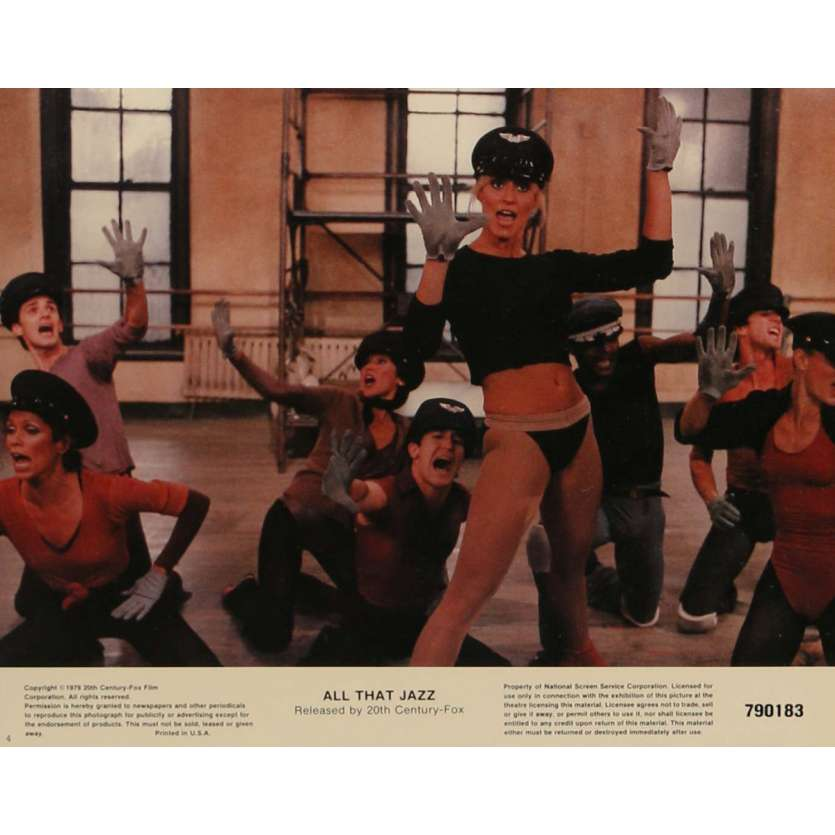 QUE LE SPECTACLE COMMENCE Photos de film N3 20x25 cm - 1979 - Roy Sheider, Bob Fosse