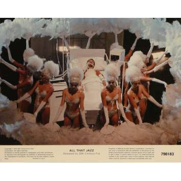 QUE LE SPECTACLE COMMENCE Photos de film N5 20x25 cm - 1979 - Roy Sheider, Bob Fosse