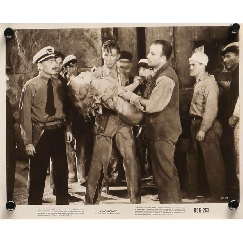 KING KONG Photo de presse N1 20x25 cm - R1958 - Fay Wray, Merian C. Cooper