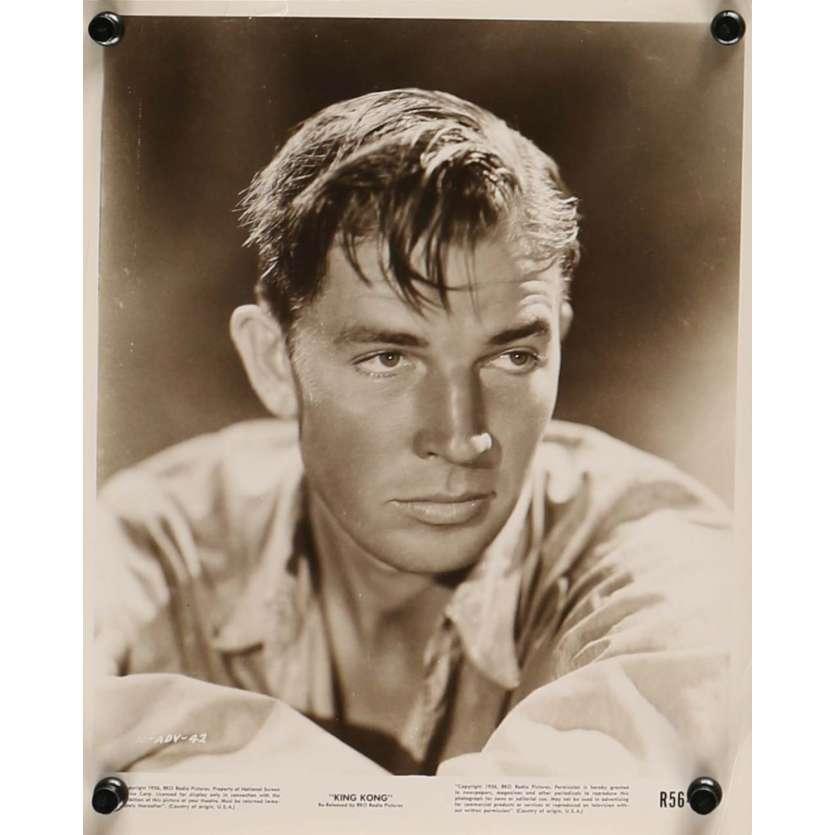 KING KONG Photo de presse N2 20x25 cm - R1958 - Fay Wray, Merian C. Cooper