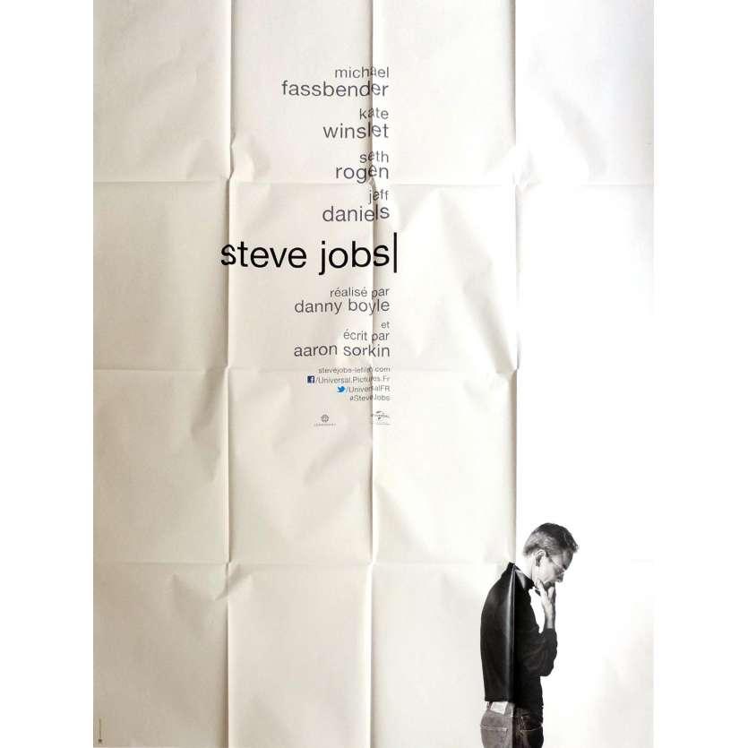 STEVE JOBS Affiche de film 120x160 cm - 2015 - Michael Fassbender, Danny Boyle