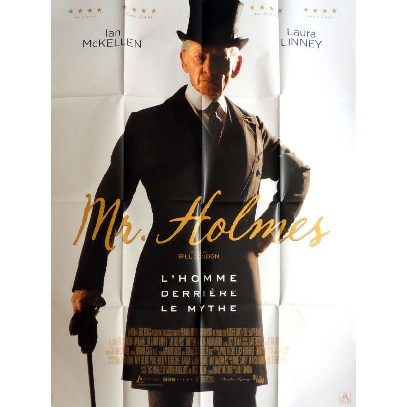 MR. HOLMES Affiche de film 120x160 cm - 2016 - Ian McKellen, Bill Condon