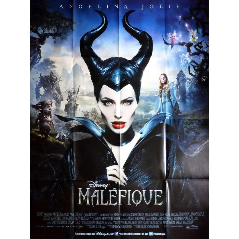 MALEFIQUE Affiche de film 120x160 cm - 2014 - Angelina Jolie, Robert Stromberg