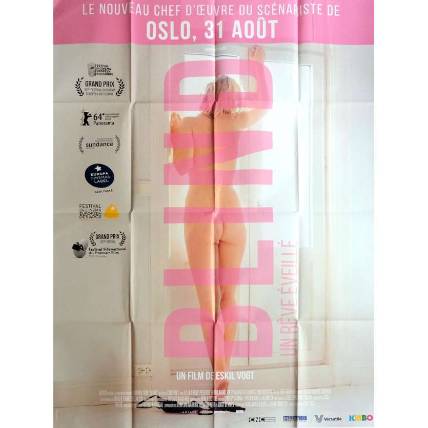 BLIND Movie Poster 47x63 in. - 2014 - Eskil Vogt, Ellen Dorrit Petersen