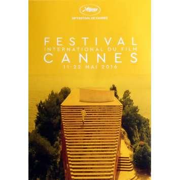 FESTIVAL DE CANNES 2016 Affiche de film 40x60 cm - 2016 - Michel Picolli, Jean-Luc Godard