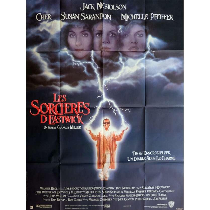 LES SORCIERES D'EASTWICK affiche de film 120x160 - 1987 - Jack Nicholson