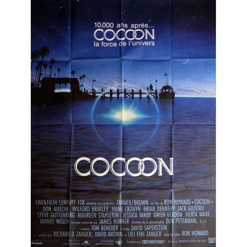 COCOON Movie Poster 47x63 in. - 1985 - Ron Howard, Don Ameche