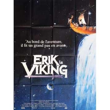 ERIK LE VIKING Affiche de film 120x160 cm - 1989 - Tim Robbins, Terry Jones