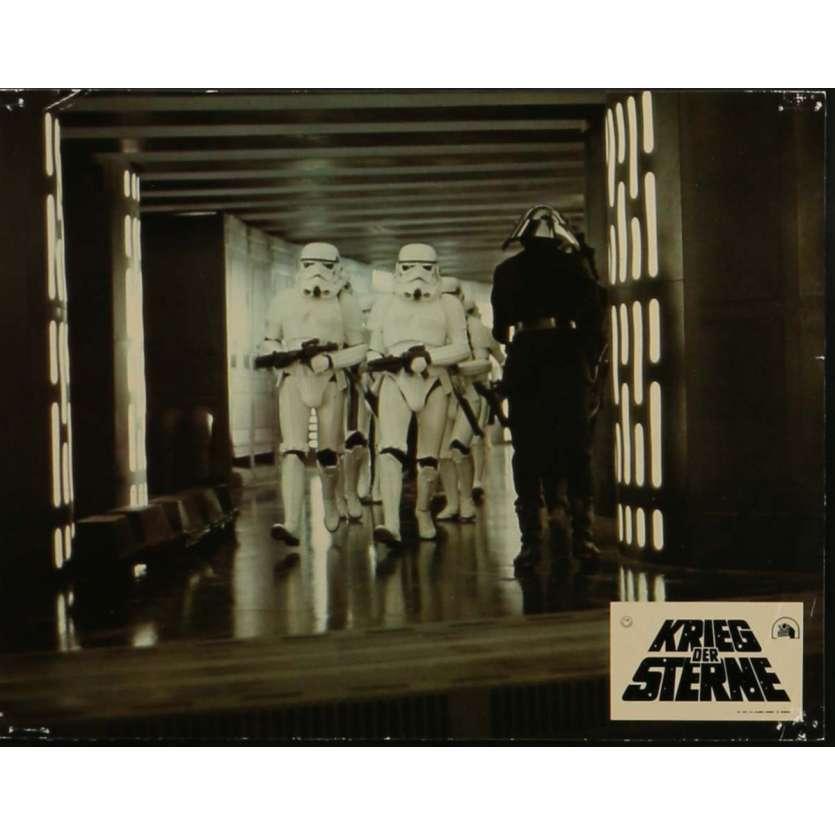 STAR WARS - LA GUERRE DES ETOILES Photo de film N1 21x30 cm - 1977 - Mark Hamill, George Lucas