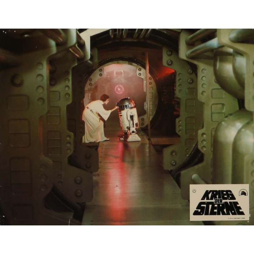 STAR WARS - A NEW HOPE Lobby Card N6 9x12 in. - 1977 - George Lucas, Mark Hamill