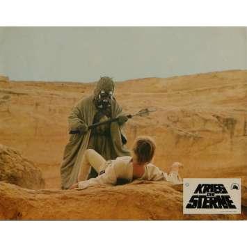 STAR WARS - LA GUERRE DES ETOILES Photo de film N7 21x30 cm - 1977 - Mark Hamill, George Lucas