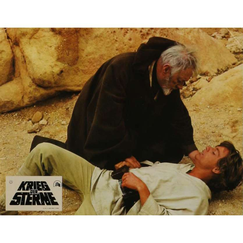 STAR WARS - A NEW HOPE Lobby Card N10 9x12 in. - 1977 - George Lucas, Mark Hamill