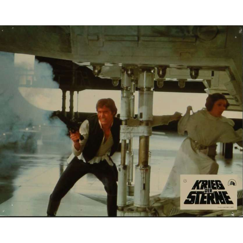 STAR WARS - A NEW HOPE Lobby Card N11 9x12 in. - 1977 - George Lucas, Mark Hamill