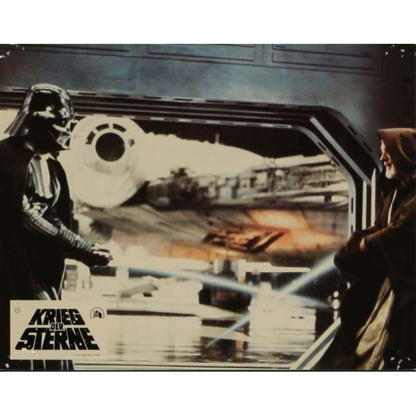 STAR WARS - A NEW HOPE Lobby Card N12 9x12 in. - 1977 - George Lucas, Mark Hamill