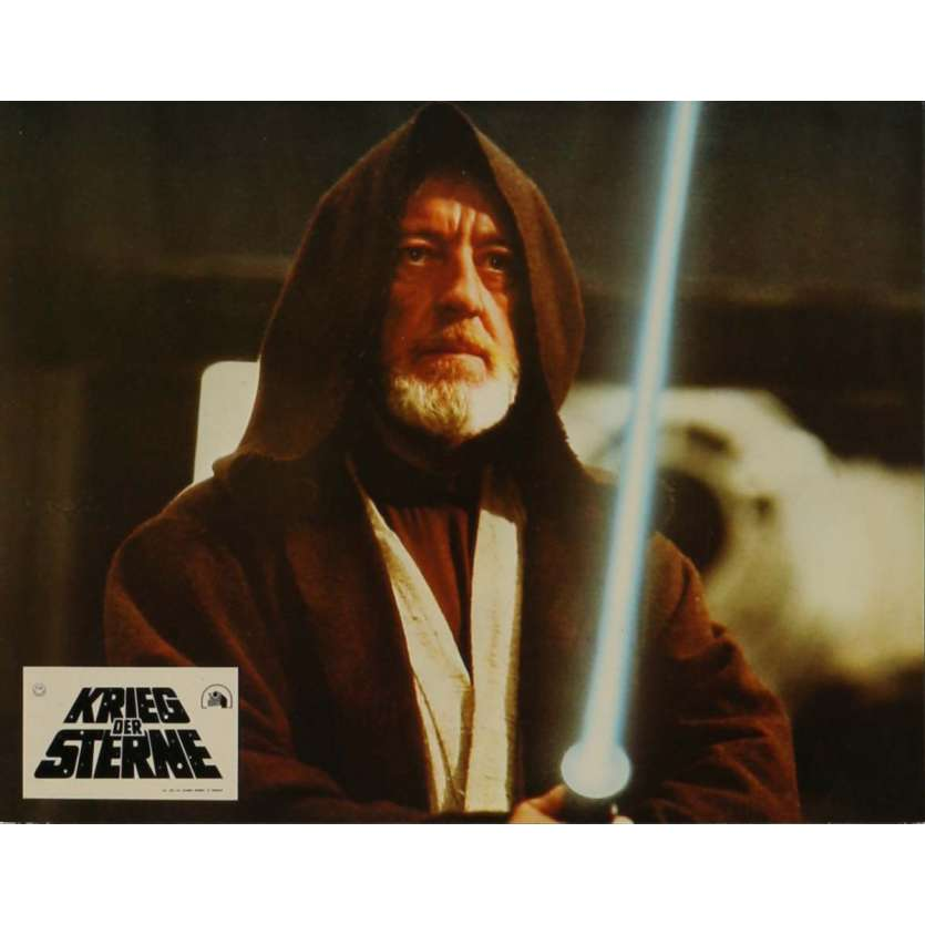 STAR WARS - A NEW HOPE Lobby Card N16 9x12 in. - 1977 - George Lucas, Mark Hamill