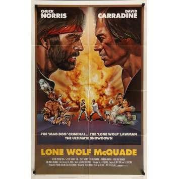 ŒIL POUR ŒIL Affiche de film 69x104 cm - 1983 - Chuck Norris, David Carradine