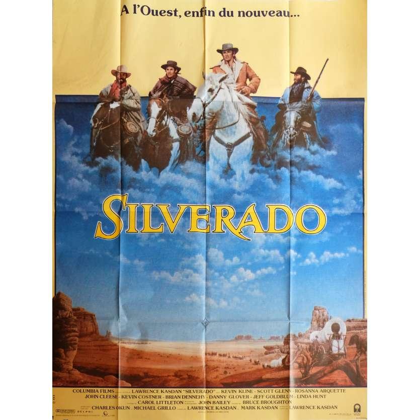 SILVERADO Movie Poster 47x63 in. - 1985 - Lawrence Kasdan, Kevin Costner