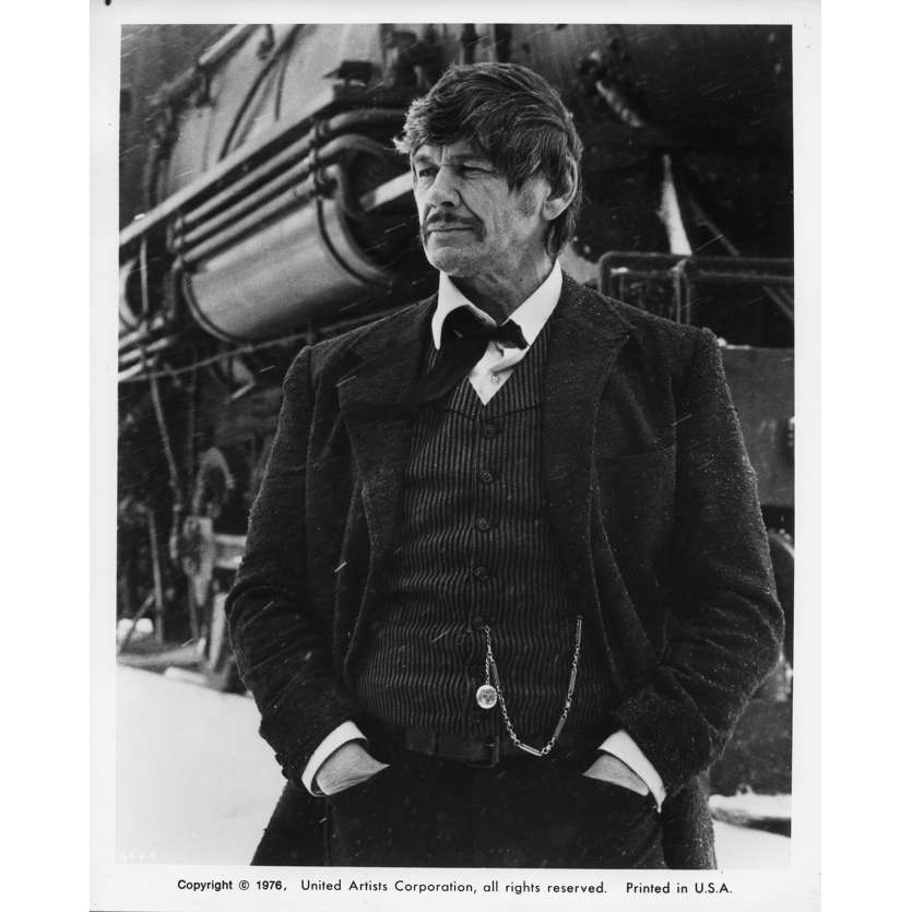 LE SOLITAIRE DE FORT HUMBOLDT Photos de presse 20x25 cm - 1975 - Charles Bronson, Tom Gries