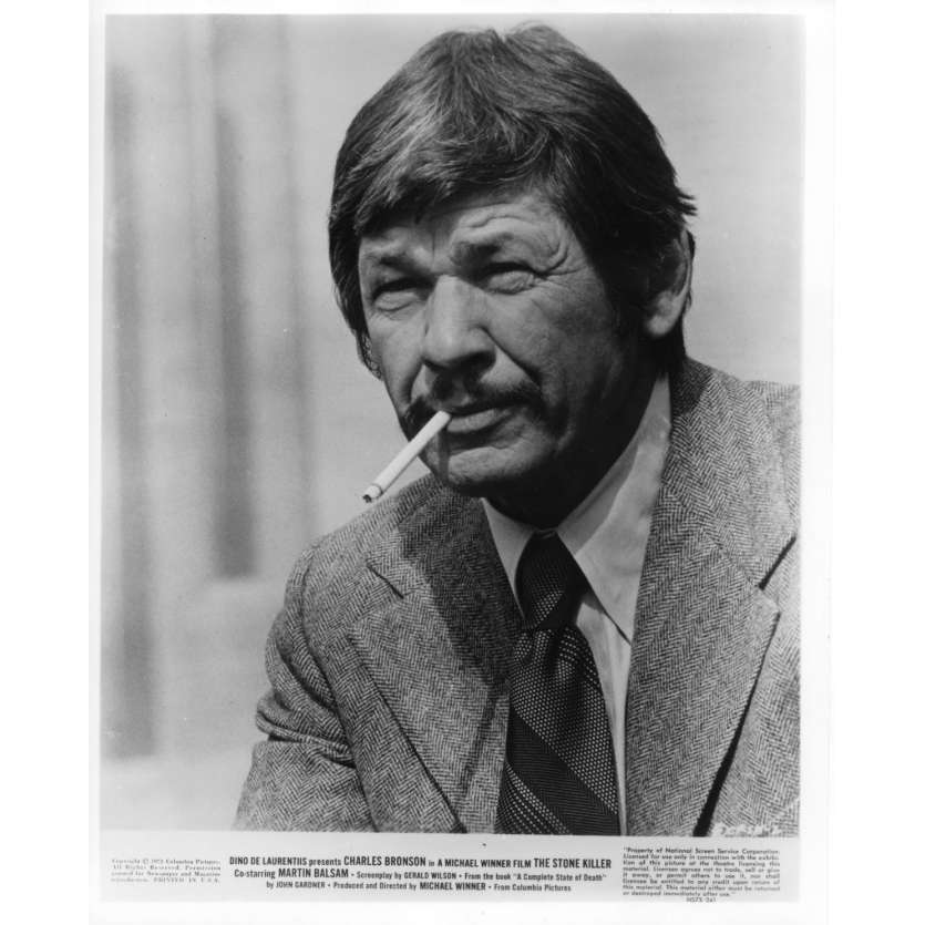 THE STONE KILLER Movie Stills 8x10 in. - 1973 - Michael Winner, Charles Bronson