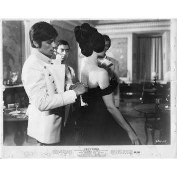 HISTOIRES EXTRAORDINAIRES Photo de presse 20x25 cm - 1968 - Brigitte Bardot, Federico Fellini
