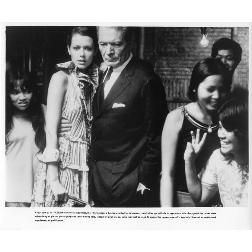 EMMANUELLE Photo de film N7 20x25 cm - 1974 - Sylvia Kristel, Just Jaeckin