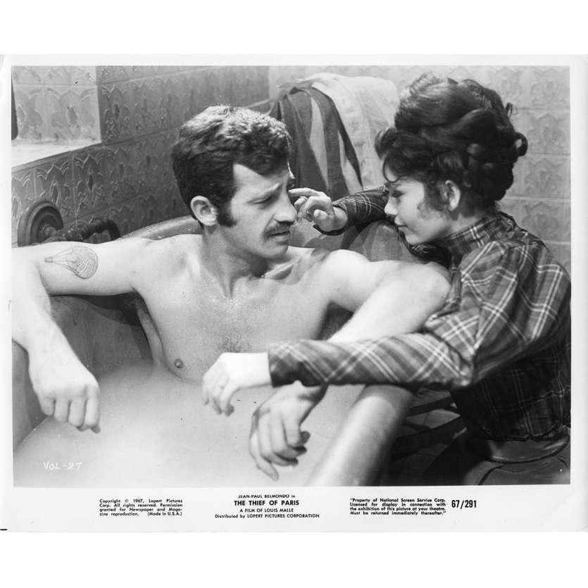LE VOLEUR Photo de presse N3 20x25 cm - 1967 - Jean-Paul Belmondo, Louis Malle