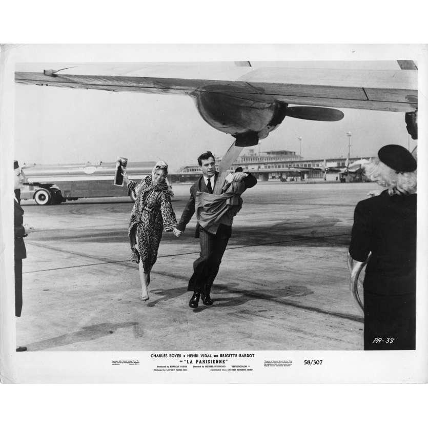 LA PARISIENNE Photo de presse N1 20x25 cm - 1957 - Brigitte Bardot, Michel Boisrond